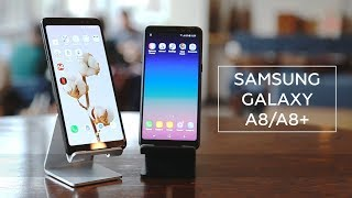 Samsung Galaxy A8|A8+ 2018 |First look|