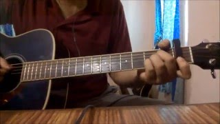Yahin Hoon Main Guitar Lesson | Ayushmann Khurrana