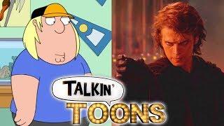 Seth Green Does a Prequel Star Wars Family Guy Mashup! (Talkin