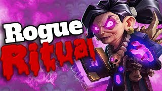 WE COMPLETED THE RITUAL AS ROGUE!! - Tempo Rogue - Kobolds And Catacombs - Standard Constructed