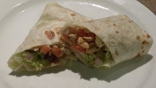 HOW TO: Easy Chicken Tortilla Wraps
