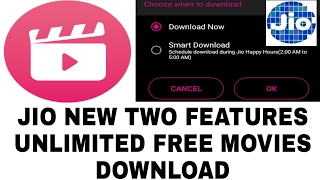 JIO NEW FEATURES IN JIO CINEMA FREE DOWNLOADS UNLIMITED MOVIES