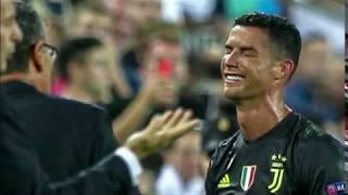 بي_بي_سي_ترندينغ: دموع #رونالدو بعد طرده لأول مرة في مسيرته في دوري الأبطال