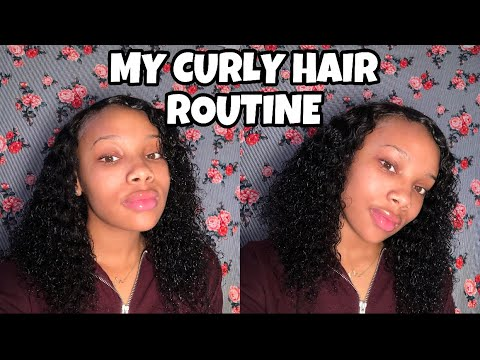 My Curly Hair Routine 2018 | Salome Emani
