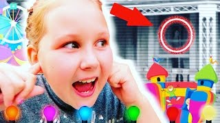 I SAW A GHOST AT THE FUNFAIR!!👻  Vlog #2