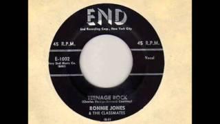 Ronnie Jones & The Classmates - Little Girl Next Door / Teenage Rock  - END 1002 - 1957