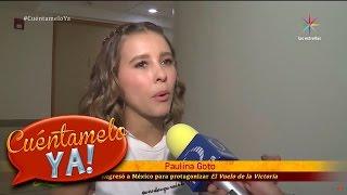 ¡Paulina Goto más enamorada que nunca de Horacio Pancheri! | Cuéntamelo YA!