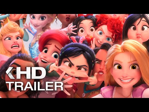 WRECK IT RALPH 2 All Clips & Trailers 2018