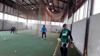 Under 19 player  Net practice 2018