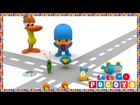 Let s Go Pocoyo Traffic Jam Episode 41 in HD