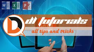 Welcome To  DL Tutorials-Stay With The Subscribe