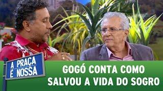 Paulinho Gogó conta como salvou a vida do sogro | A Praça É Nossa (01/06/17)