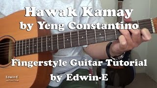 Hawak Kamay by Yeng Constantino Fingerstyle Guitar Tutorial Cover ( free Tabs)
