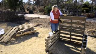 Raised Bed Garden from Pallets