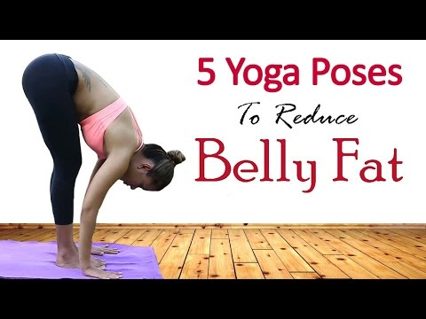 5 Simple Yoga Exercises To Lose Belly Fat In 1 Week | Best Yoga Asanas for Losing Weight Quickly