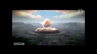 شاهد ماذا فعلت القنبلة الذرية💣 بهيروشيما أثناء إنفجارها | أناس تبخرت أجسادهم في رمش العين