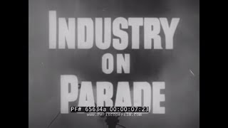 INDUSTRY ON PARADE  1950s TRAVEL INDUSTRY   PAN AM CLIPPER  ABERCROMBIE & FITCH   LUGGAGE 65634a
