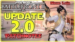 Update 2.0! // Alle Infos und Patchnotes // Star Wars Battlefront 2 News