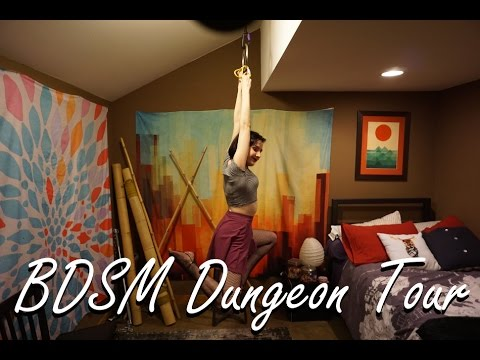 BDSM House Dungeon Tour