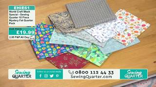 Sewing Quarter - Tuesday 26th March 2019