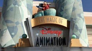 Magic of Disney Animation tribute at Walt Disney World