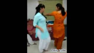 Punjabi Girls Are Doing Dance Practice For A Wedding Function