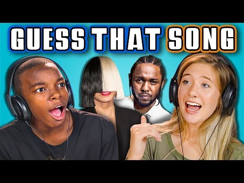 TEENS GUESS THAT SONG CHALLENGE 3 React