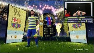 TOP 100 PACKS in FIFA 18 !!!