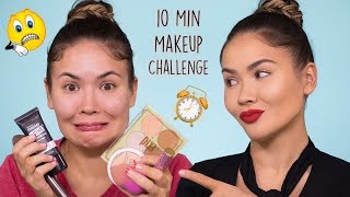 Running Late Makeup Tutorial 10min Challenge | Maryam Maquillage