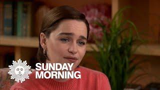"""Emilia Clarke on """"Games of Thrones"""""""