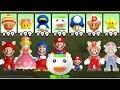 New Super Mario Bros U Deluxe - All Power-Ups