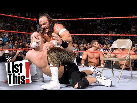 John Cena's 5 rarest matches: WWE List This!