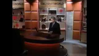 CBC Newsworld Update January 12, 2003