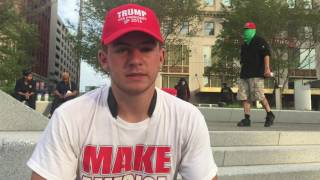 RNC 2016: Donald Trump Supporter Describes Encounter With Anti-Trump Protesters