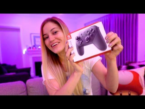 🌟 New Nintendo Switch Cases + Pro Controller + Zelda Gameplay!