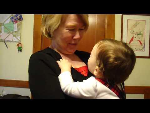Kisses for Granny & Aunty Maggie