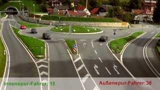 Der Traunsteiner Kreisverkehr