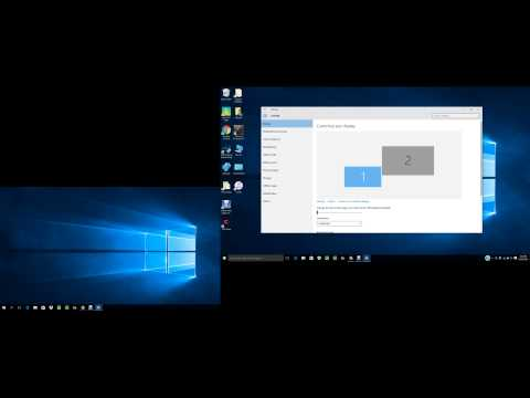 #1 How to change screen display settings (for multiple monitors)