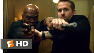 The Hitman's Bodyguard (2017) - Bodyguard vs. Hitman Fight Scene (2/12) | Movieclips