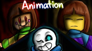Megalomaniac - Undertale Animation (Glitchtale #1) | Song by Aria Rose
