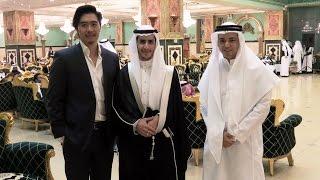 أجنبي أول مرة يحضر زواج سعودي!