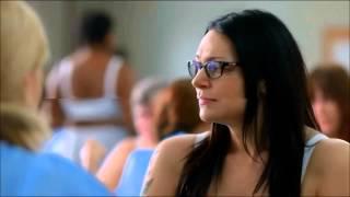 Orange is the New Black Season 3 3x02 Alex and Piper Scene  HD