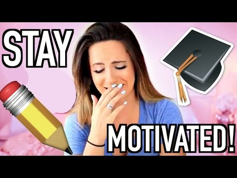 How To Stay Motivated + Positive In School!
