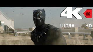 [4k][60FPS] CAPTAIN AMERICA  CIVIL WAR Final Trailer 4K 60FPS HFR[UHD] ULTRA HD