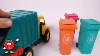 Carros Para Niños y Camion de Basura Para Niños  en Español  ❤Juguetes Sorpresa Para Niños