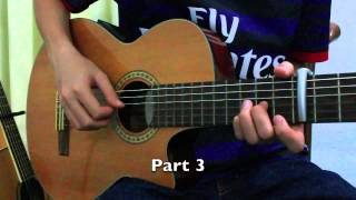 [Part 2] Safe and Sound (Guitar Tutorial - Verse)