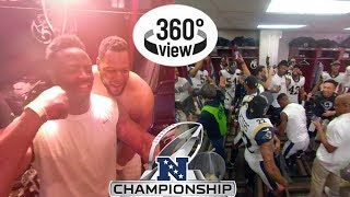 Rams vs. Saints NFC Championship All-Access in 360º | 2018 NFL Playoffs