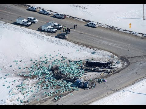 29-year-old driver charged in Humboldt Broncos bus crash