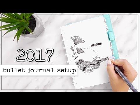 Bullet Journal Setup | PLAN WITH ME | Jul - Aug 2017