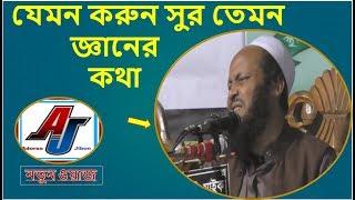 Bangla waz যেমন করুন সুর তেমন জ্ঞানের কথা খুবই সুন্দর একটি ওয়াজ | new waj mahfil